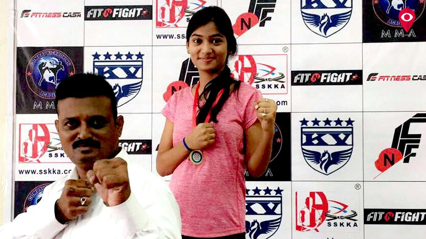 Mumbaikar bags gold in Kick-Boxing competition