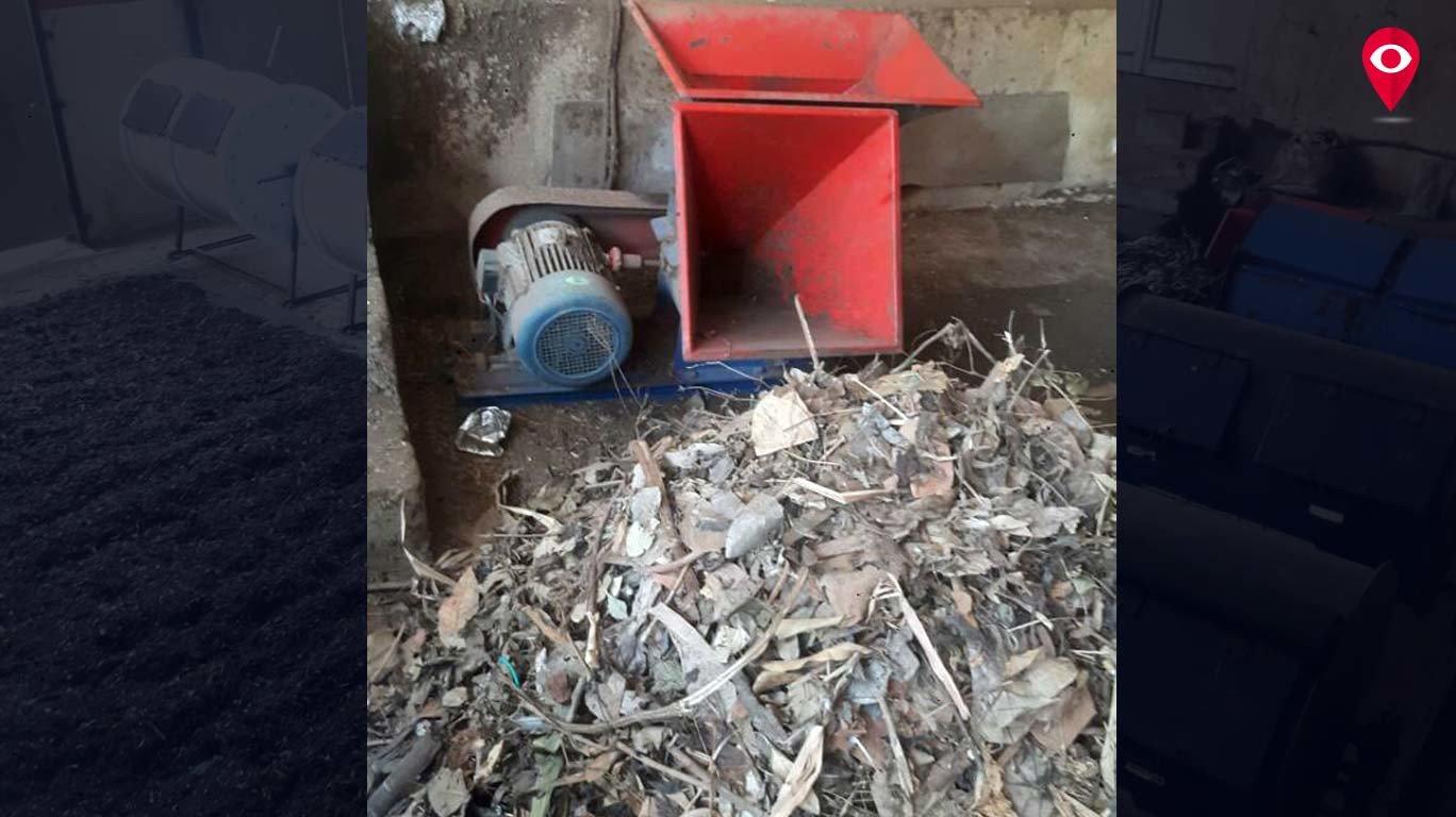 कचऱ्याचं खत बनवून परिसर केला प्रदूषणमुक्त