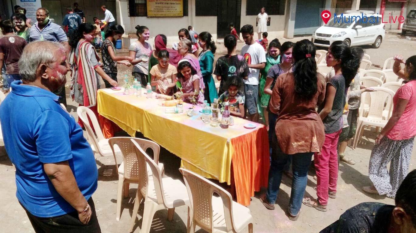 Eco friendly Holi celebrations