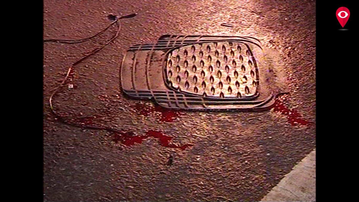 जोगेश्वरी फ्लाईओवर पर शेवरलेट कार के उड़े परखच्चे