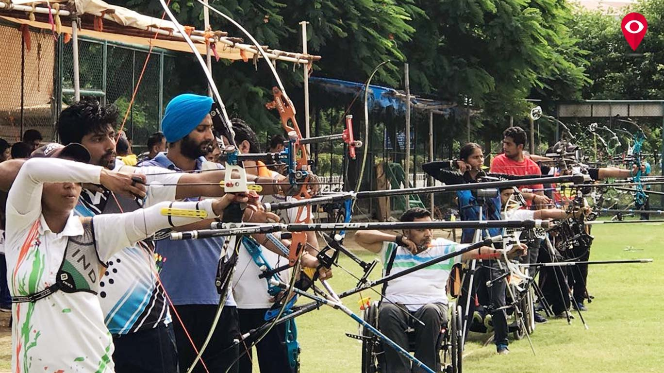 Physically challenged man makes it to World Archery Para Championship