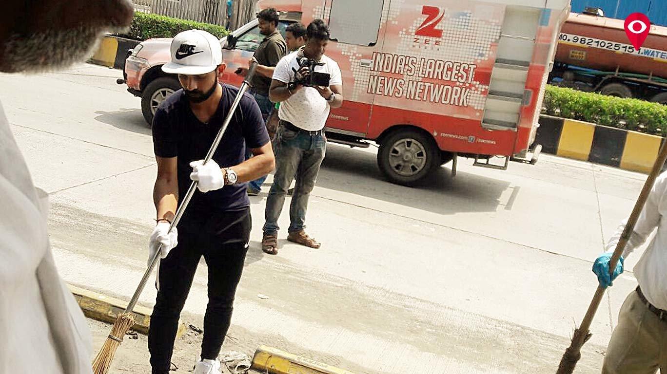 Cricketer Ajinkya Rahane on board for 'Swachhata Hi Seva'