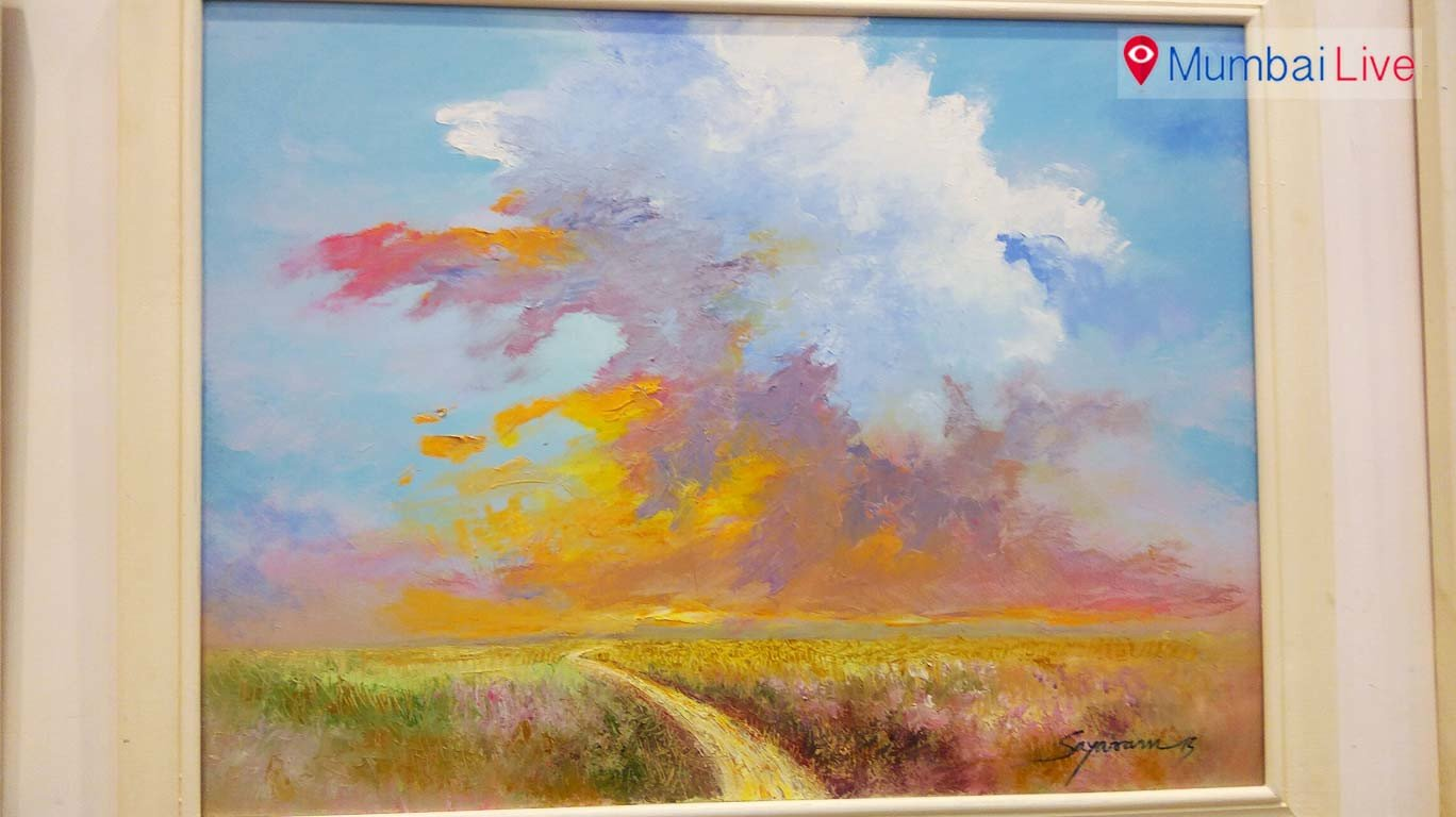 'Weave of Colours' painting exhibition