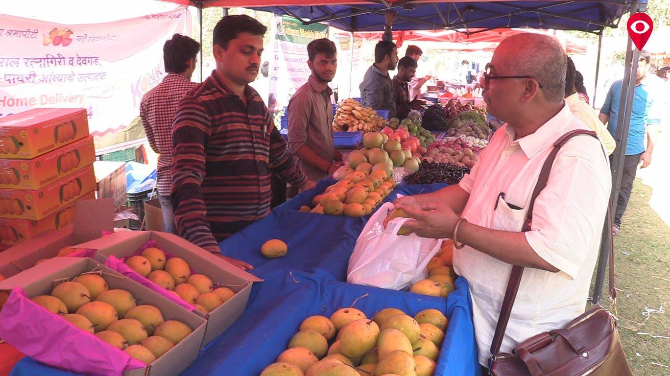 Farmers weekly market at Shivaji Park