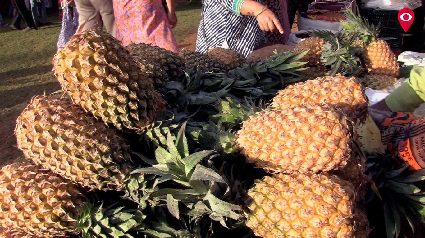 शिवाजी पार्क में सस्ती और ताजी सब्जियों का साप्ताहिक बाजार