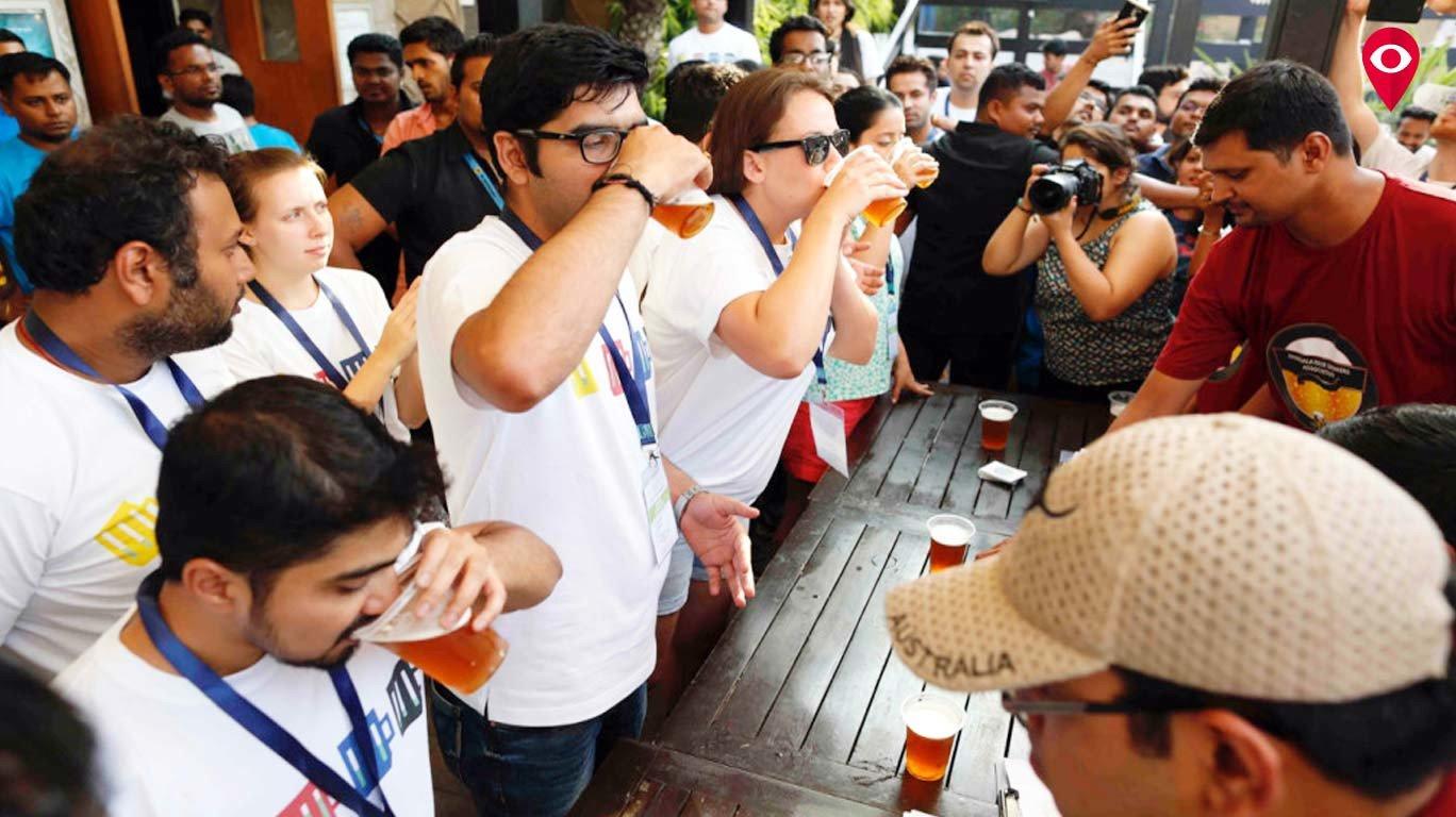 रेडी फॉर 'बीअर ऑलिंपिक्स'?