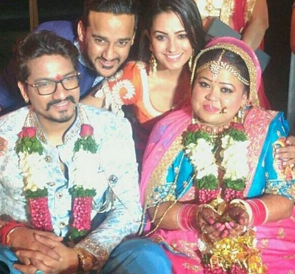 Bharti Singh and Haarsh Limbachiya's marriage pics