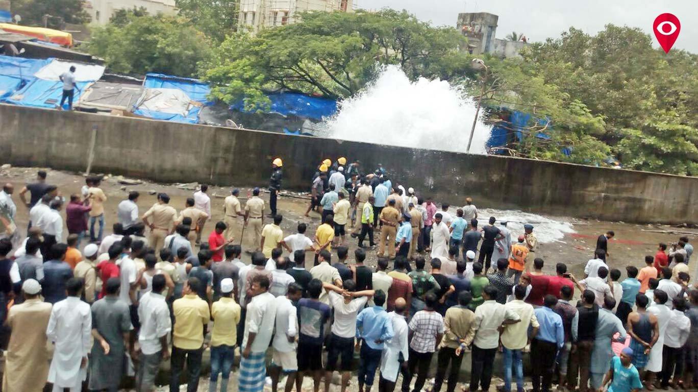Two kids drown in water pipeline burst in Bandra