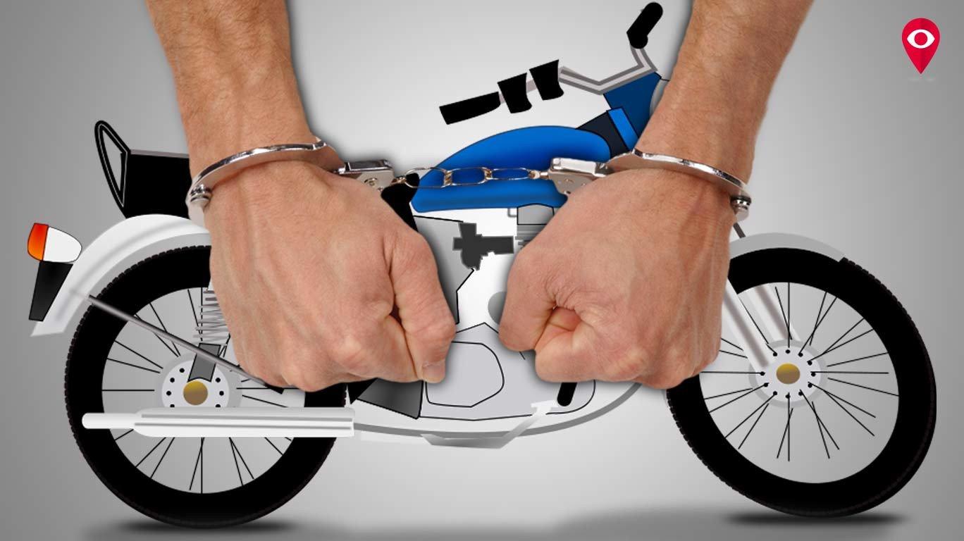 विरारच्या नगरसेवकाची बाईक चोरणारे 'ते' चोरटे गजाआड