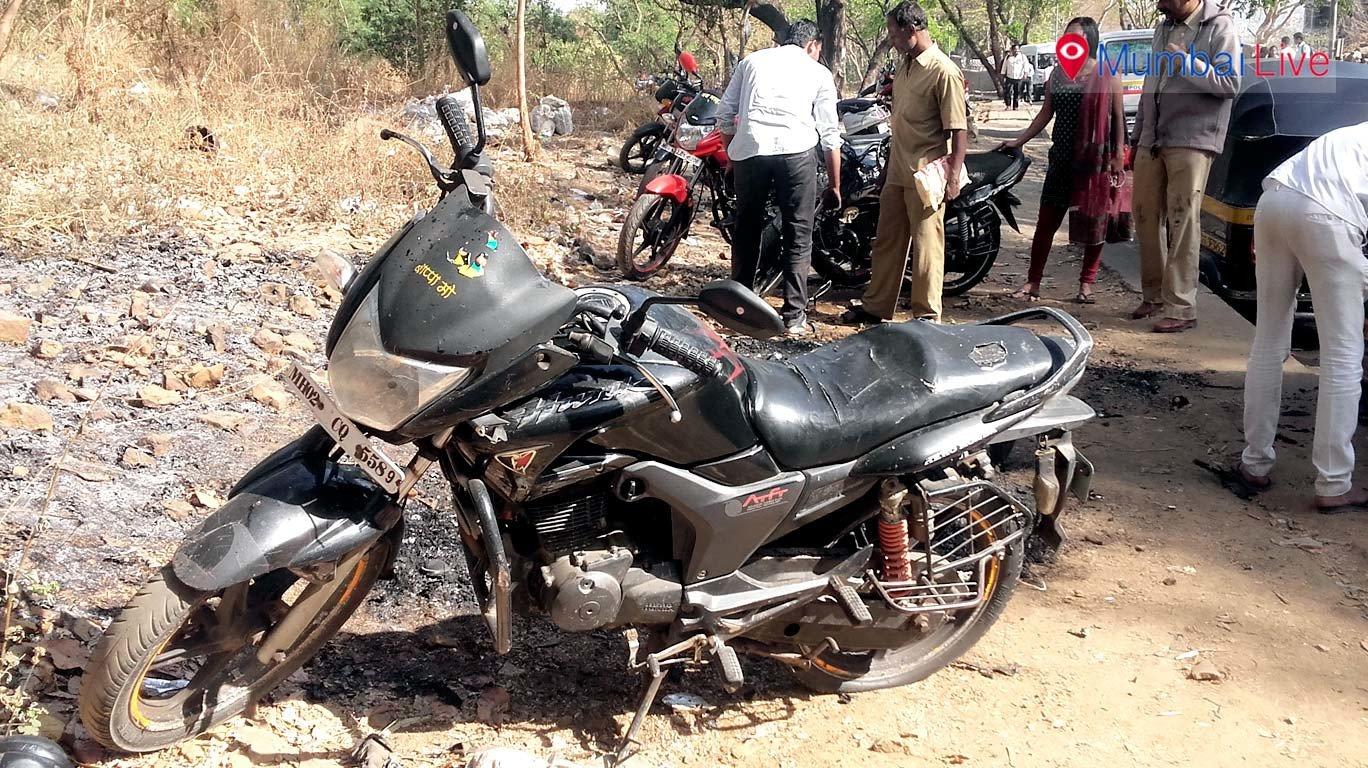 Miscreant sets 5 bikes on fire at Samta Nagar