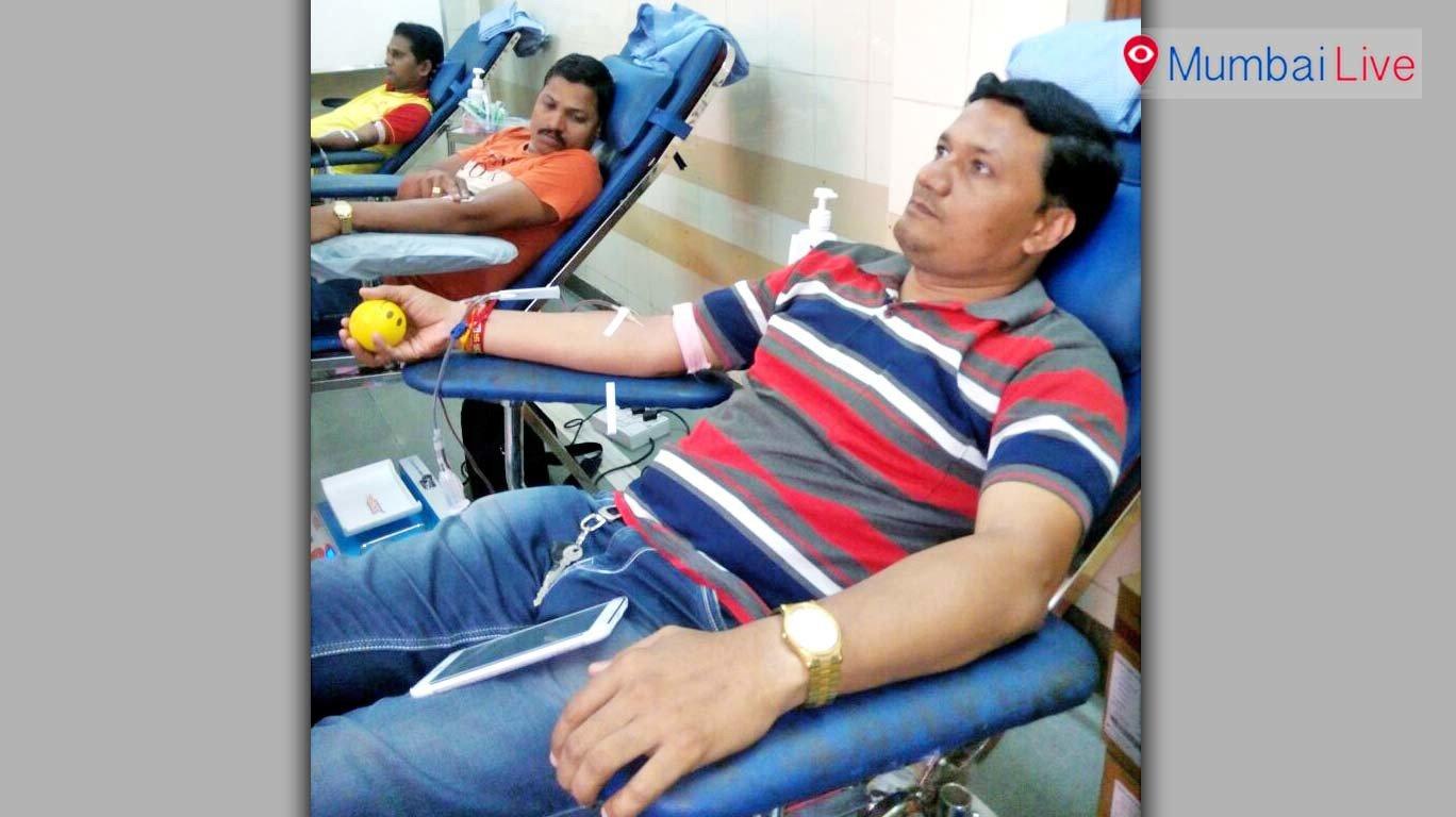 कर्करोगग्रस्त रुग्णांसाठी दादरमध्ये रक्तदान शिबीर