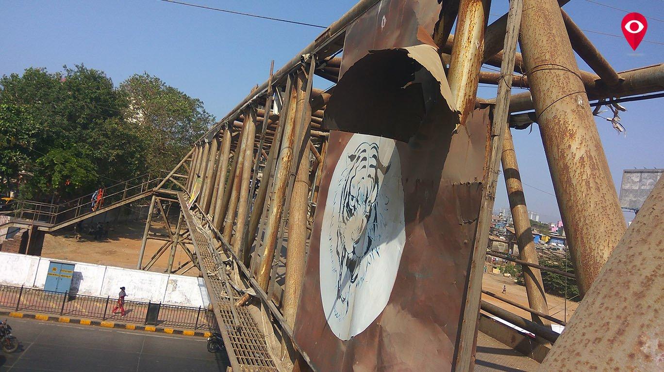 रेतीबंदर आणि मृदुंगआचार्य मैदानाला जोडलेल्या पुलाची दुरवस्था