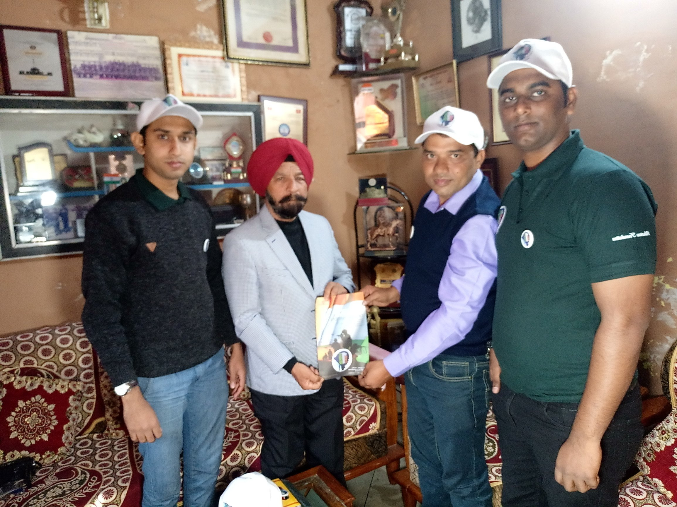 Atharva Foundation visits Jammu & Kashmir under their initiative 'One For All, All For One'