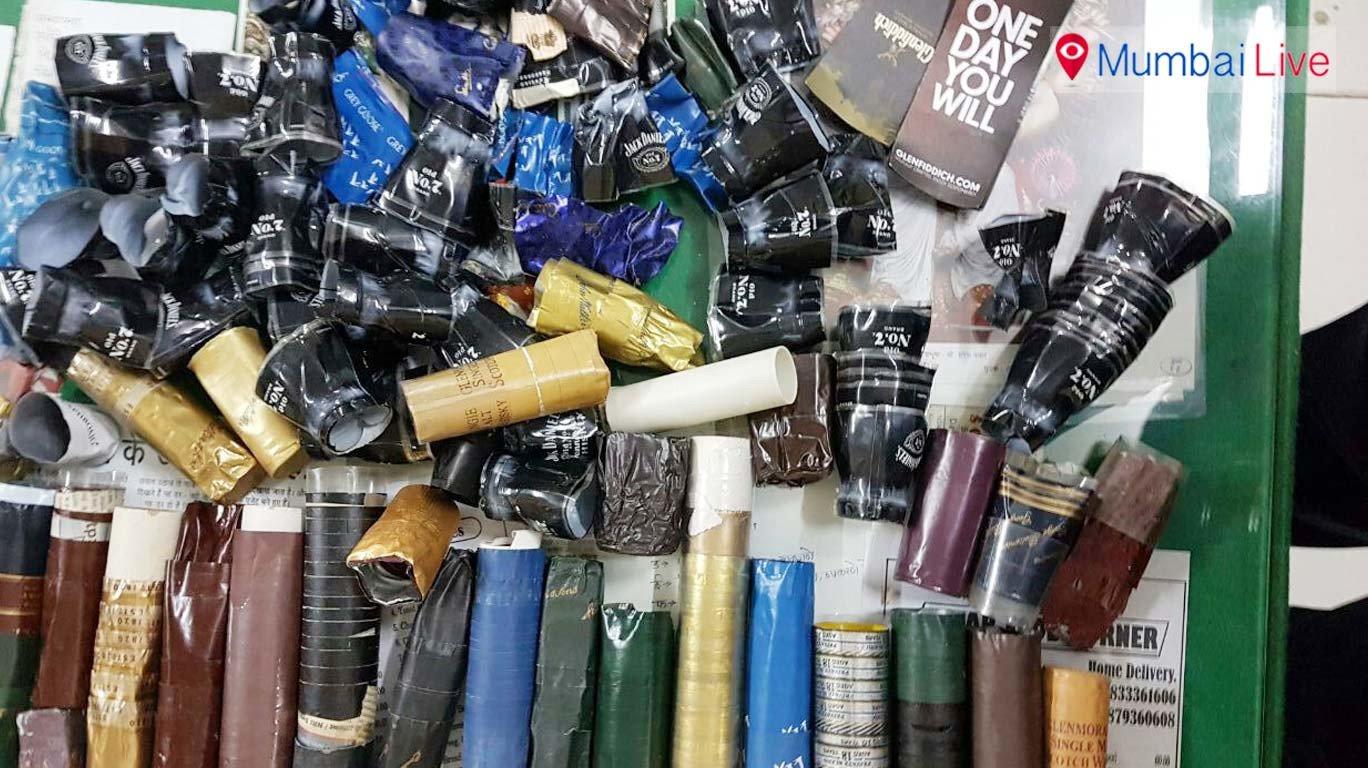 गोरगावमध्ये लाखो रूपयांची बनावट दारू जप्त