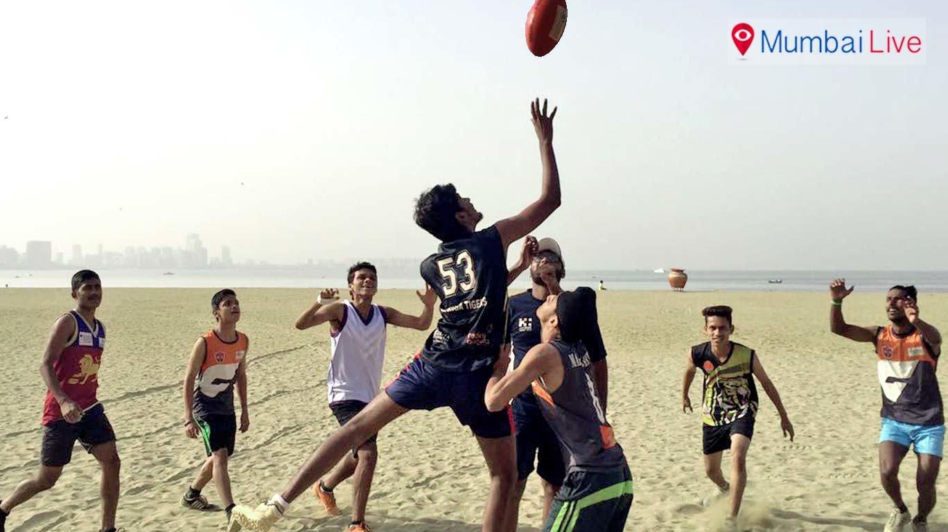 अब मुंबई में ऑस्ट्रेलियाई फुटबॉल की चमक