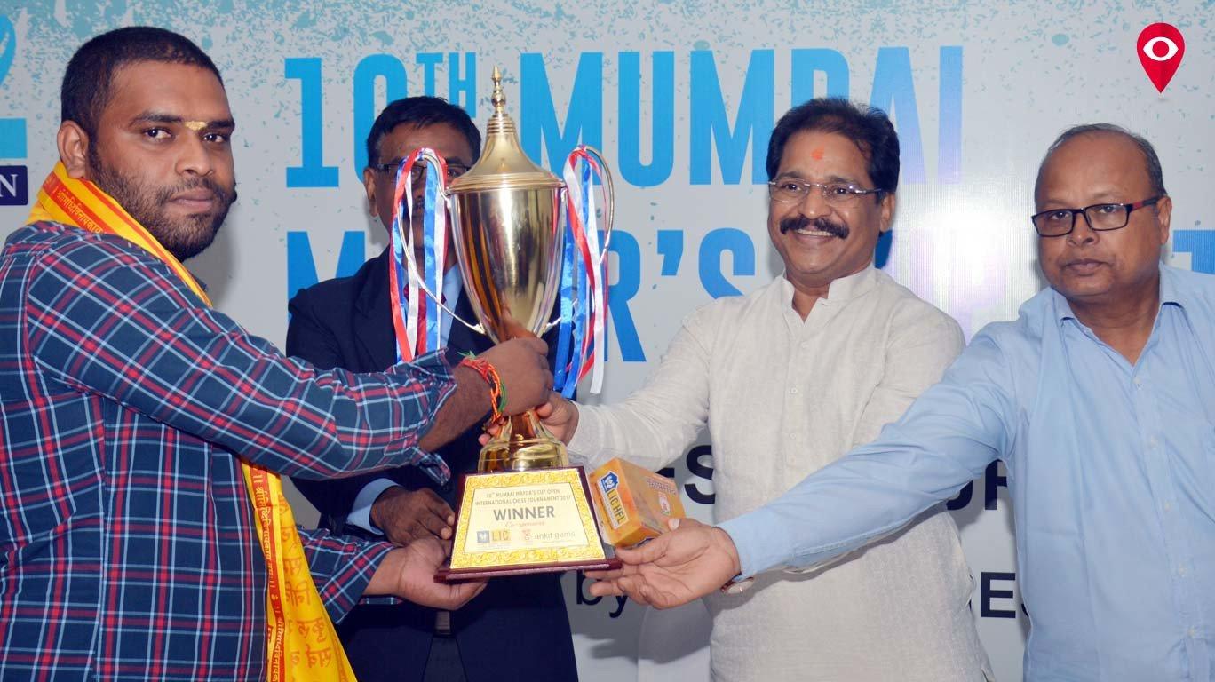 महापौर चषक बुद्धिबळ स्पर्धेत विनोद कुमारचं लखलखतं यश