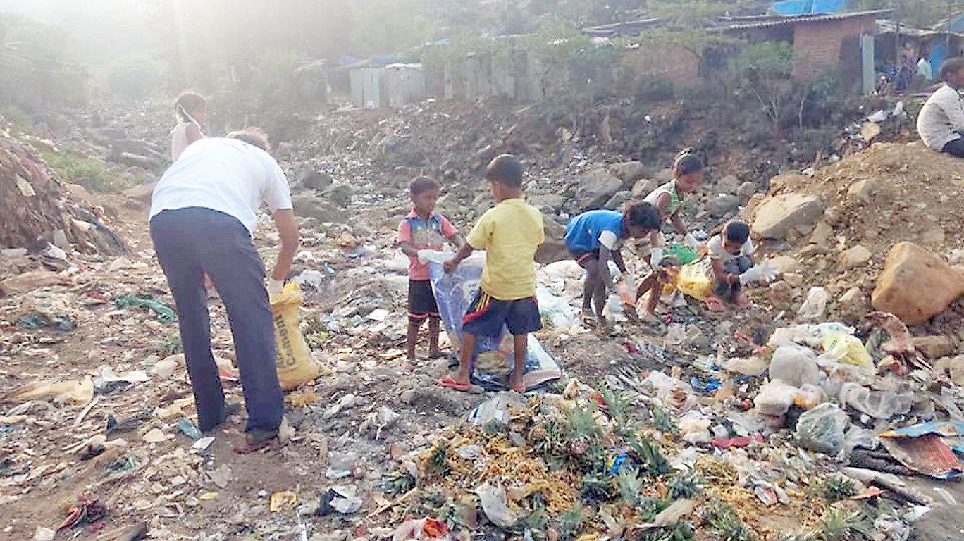 साफ सफाई अभियान में निकाला गया ५०० किलो कचरा !