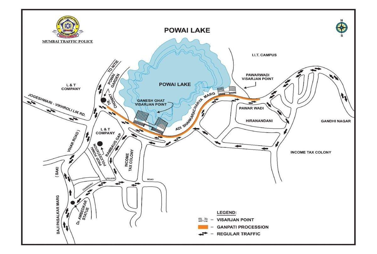 How to avoid traffic on Ganpati Visarjan day