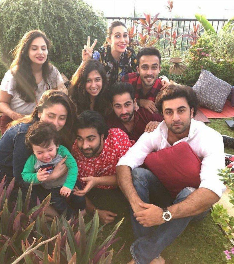 Taimur Ali Khan wins hearts at Kapoor's Christmas Brunch