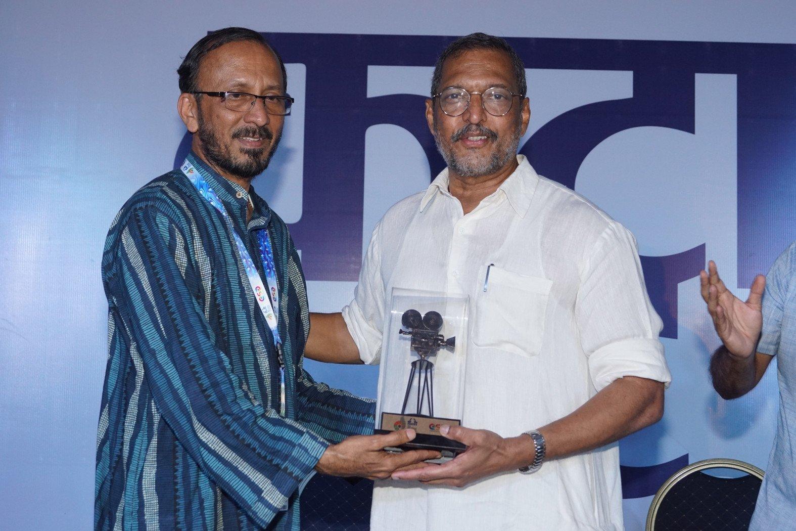 IFFI में पहुंचे नाना पाटेकर और मनोज जोशी, 'बायोस्कोप विलेज' से हुए प्रभावित!