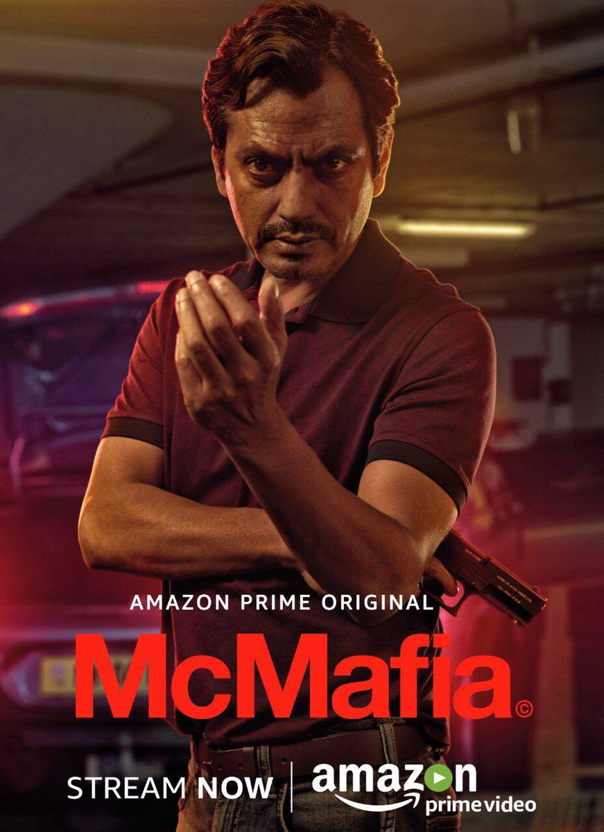Nawazuddin Siddiqui enters the web series world with Amazon Prime's McMafia