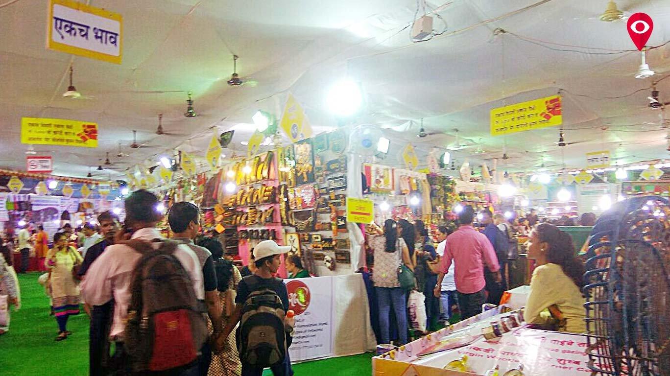दादरची महाराष्ट्र व्यापारी पेठ गजबली