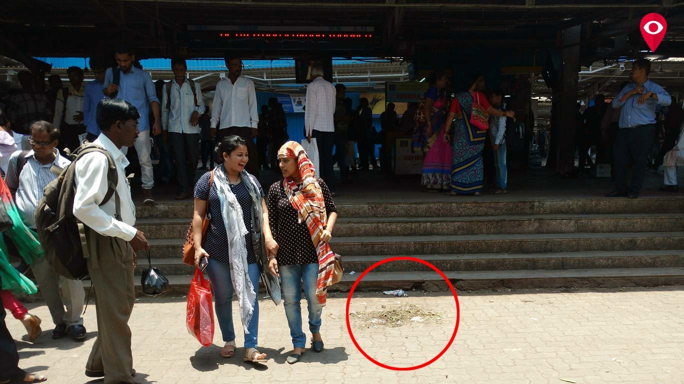 Who is responsible for unclean railway stations?