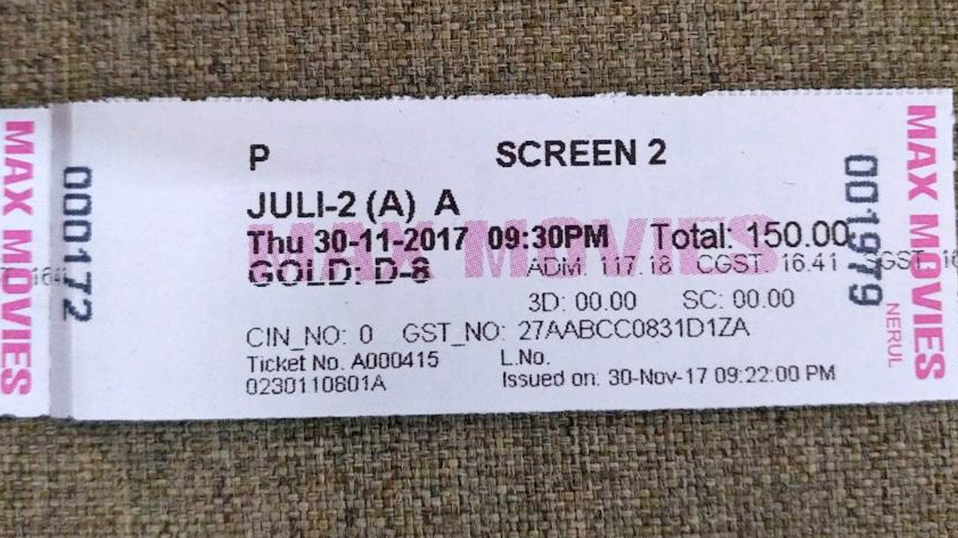 Multiplex sells 'Julie 2' tickets for Marathi film 'Dashakriya' show