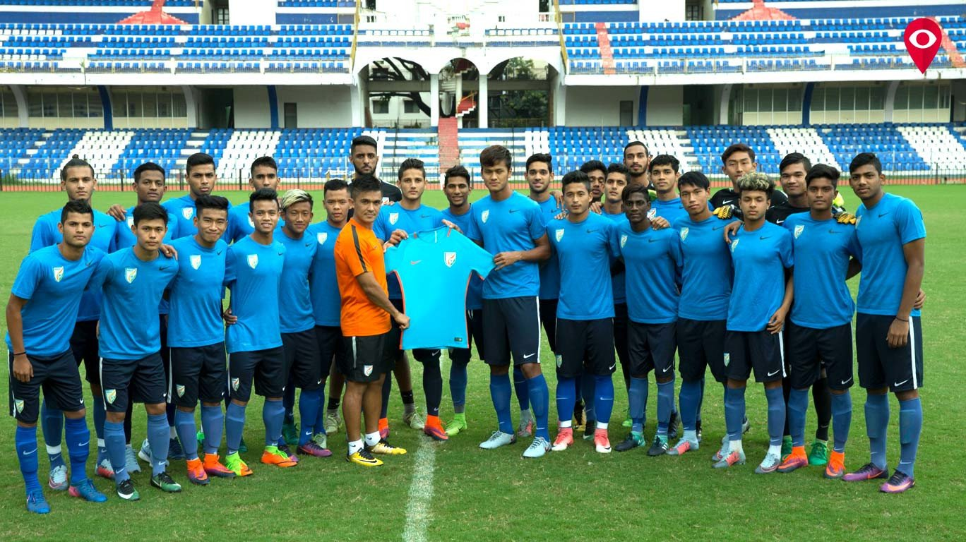 da8050ce2fe5 Team India gets a new look as Nike launches the new football kit
