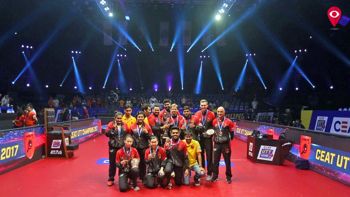 फॅल्कन टीटीसी संघ ठरला टेबल टेनिस चॅम्पियन