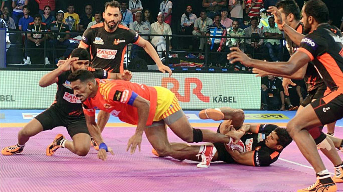 Gujarat Fortunegiants thrash U Mumba by 18 points