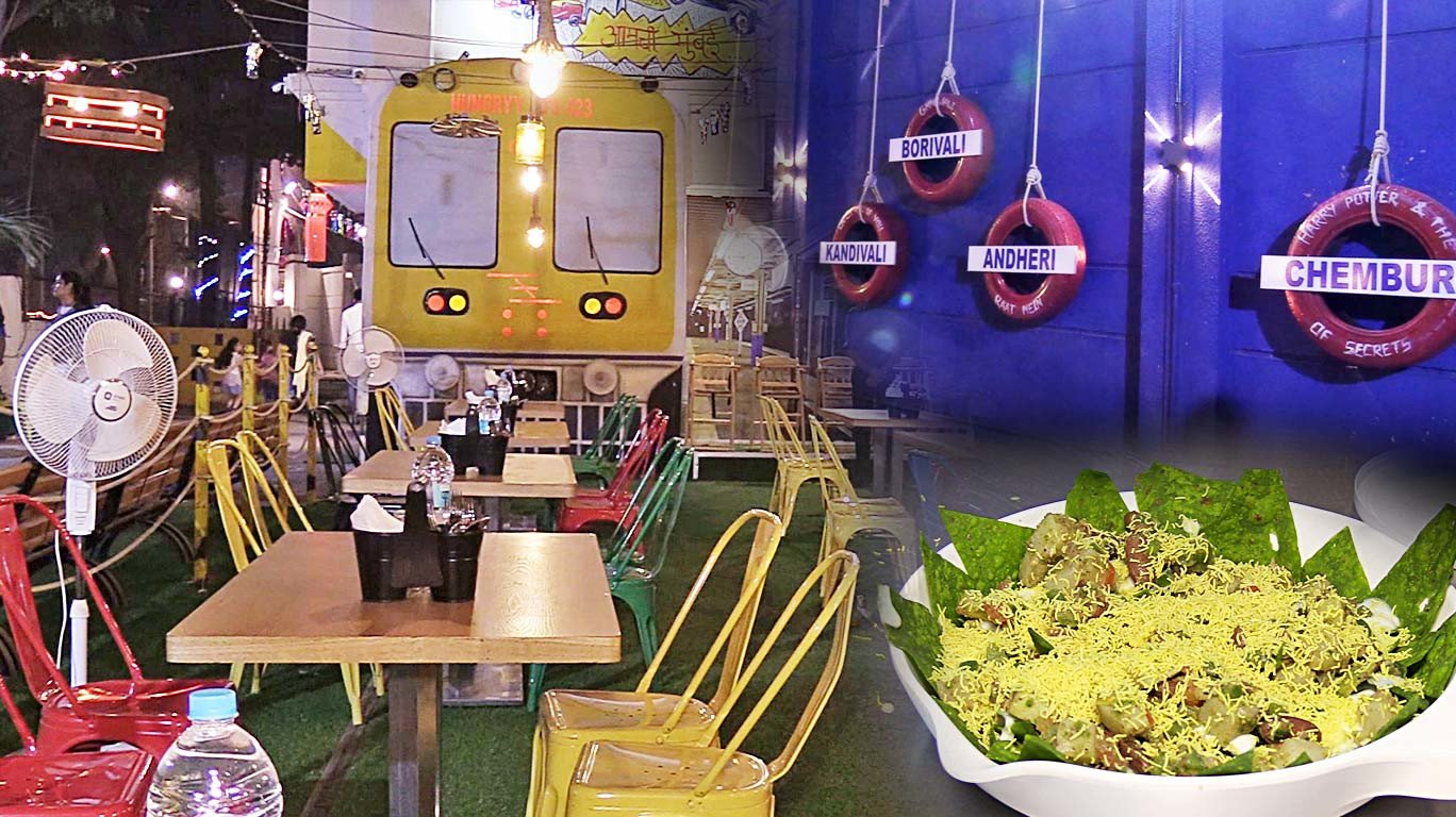 Next station: Hungry JD's! Don't miss out on this train-themed restaurant