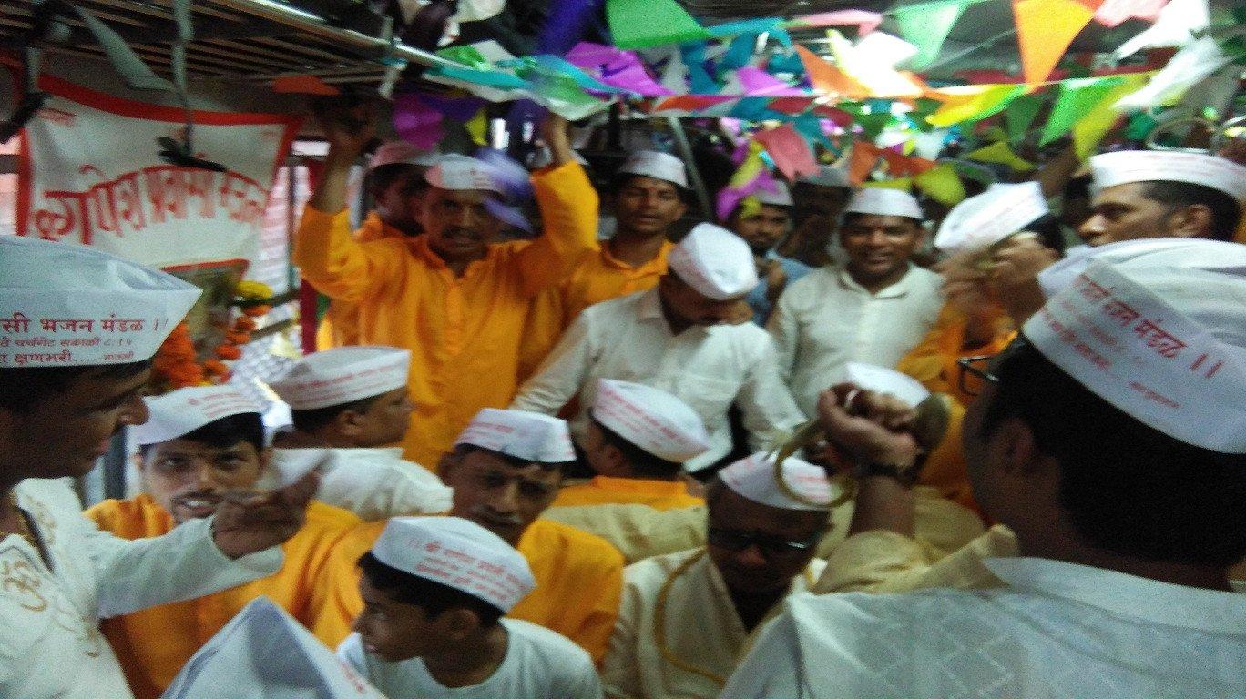 And that's how rail commuters mark Ashadhi Ekadashi