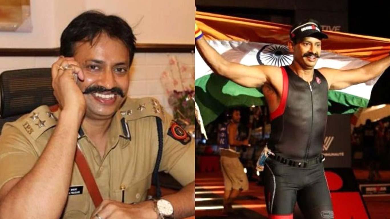 IPS officer Krishna Prakash becomes the first civil servant to win the 'Ironman triathlon'