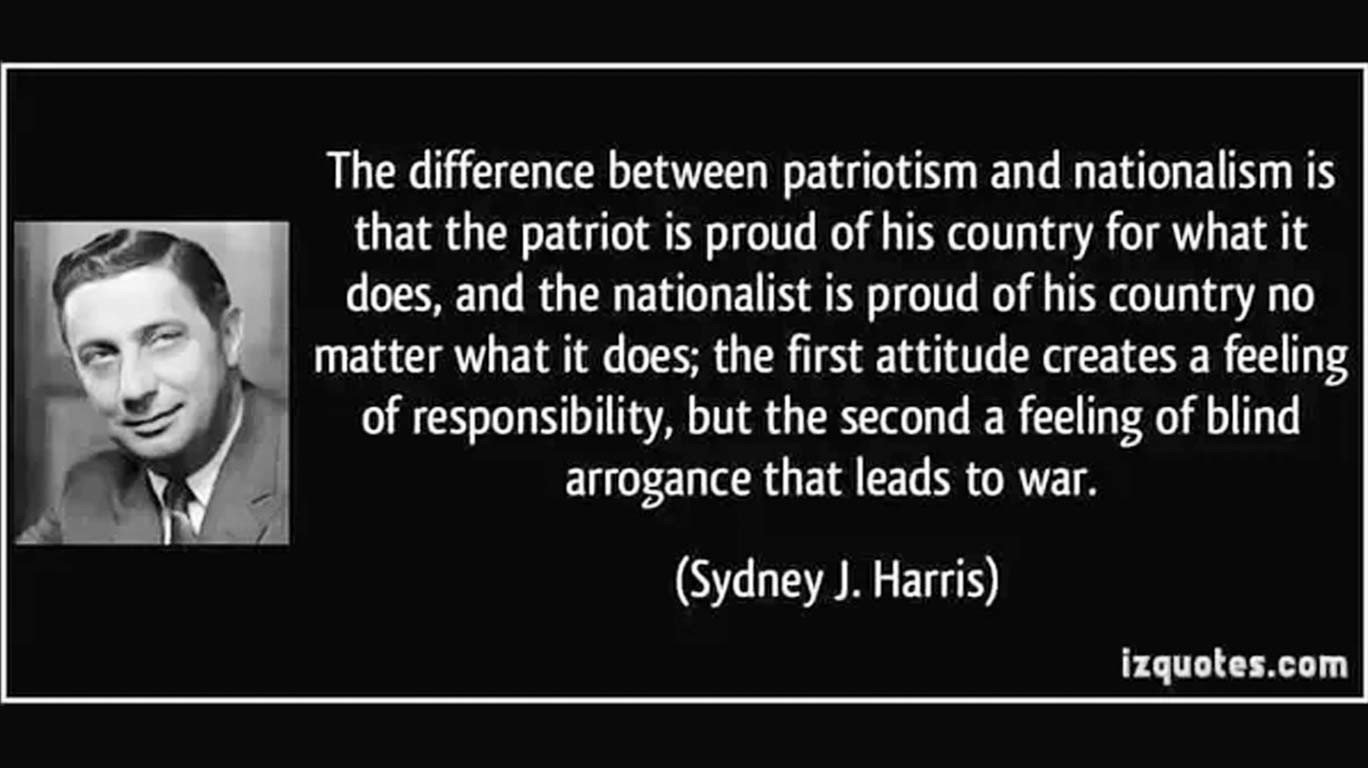This Independence Day, choose who you are - A 'Patriot' or a 'Nationalist'