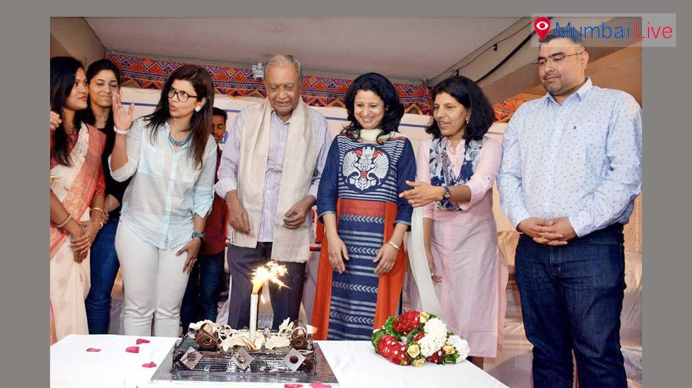 संजय चक्रवर्ती यांचा 75वा वाढदिवस साजरा