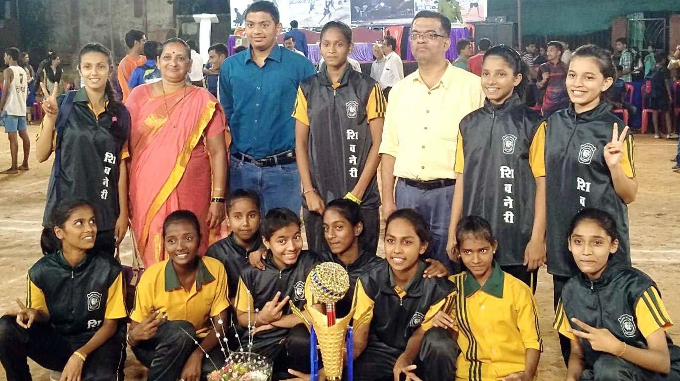 शिवनेरी, विद्यार्थी क्रीडा केंद्राला मुंबई जिल्हा अजिंक्यपद स्पर्धेचे विजेतपद