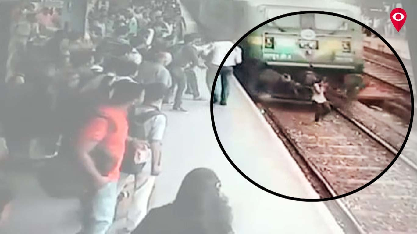 Girl walks away alive post train accident
