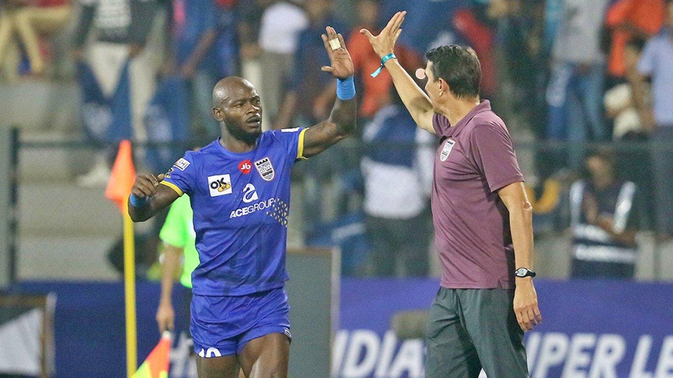 Emana helps Mumbai City FC end  Chennaiyin FC's fine run