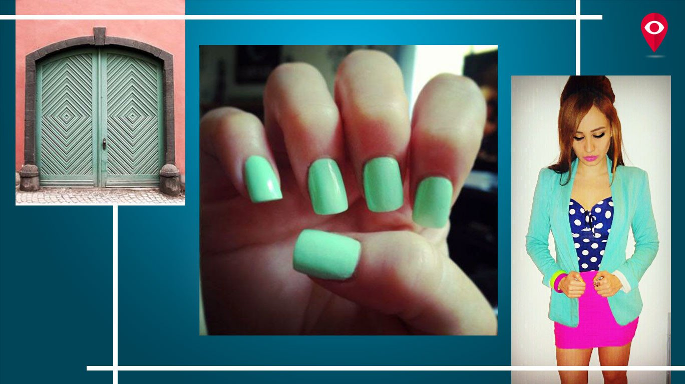 Mint is the new black this summer