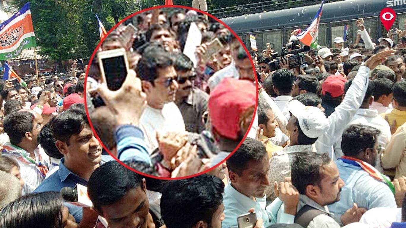 Live: मनसे मोर्चा - राज ठाकरे का एलफिन्स्टन भगदड़ को लेकर रेलवे के खिलाफ मोर्चा
