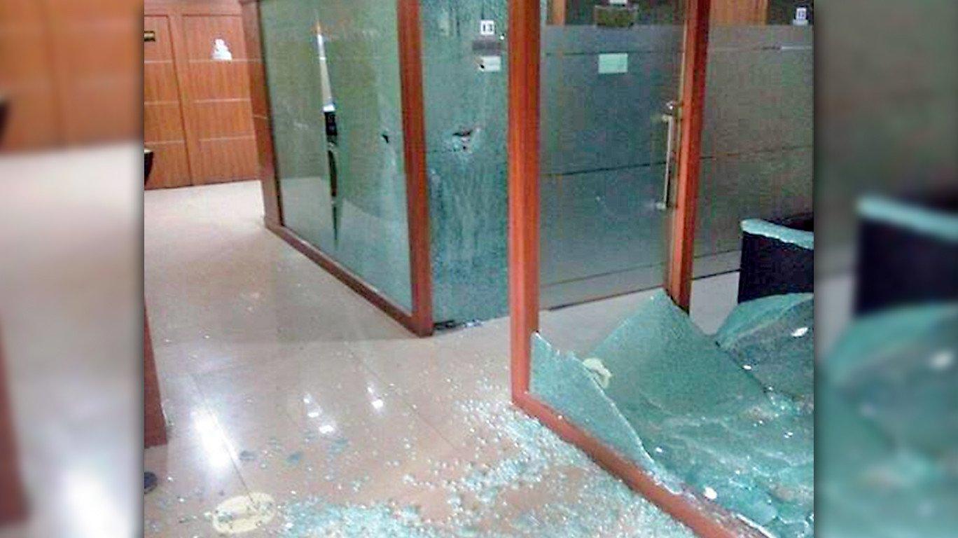 काँग्रेस आॅफिस तोडफोड: मनसेच्या ८ कार्यकर्त्यांना पोलीस कोठडी