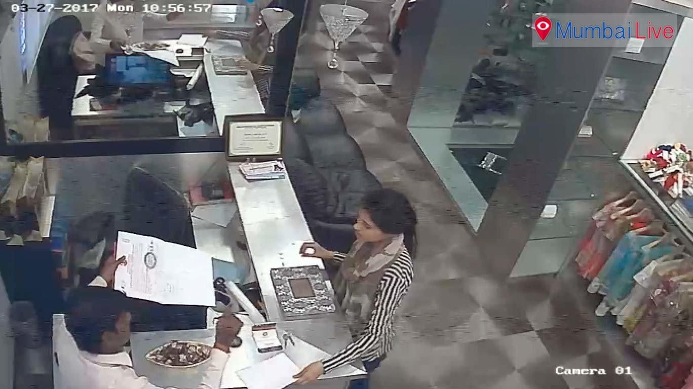 मंत्रालयासमोर चोरी, सीसीटीव्हीत चोर कैद
