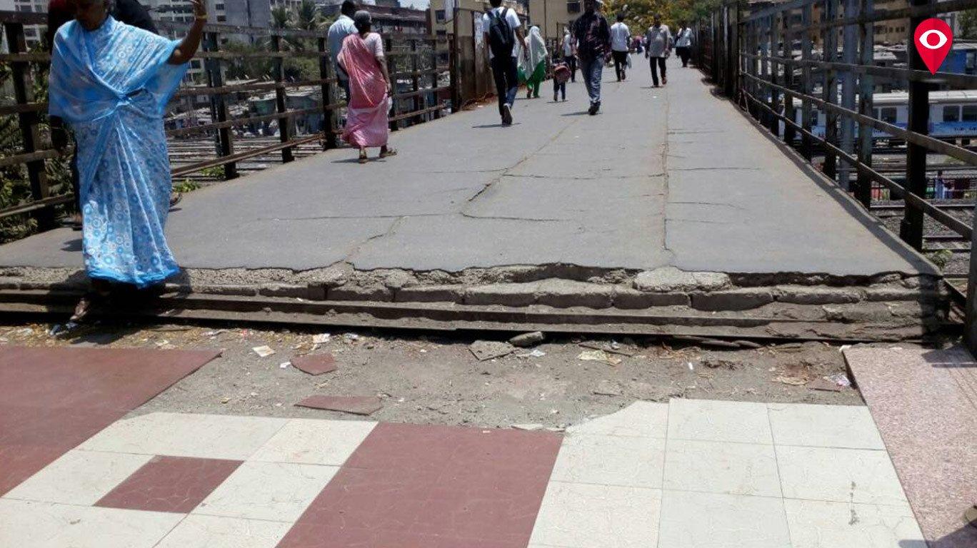 या ब्रिजच्या दुरुस्तीची जबाबदारी नेमकी कुणाची?