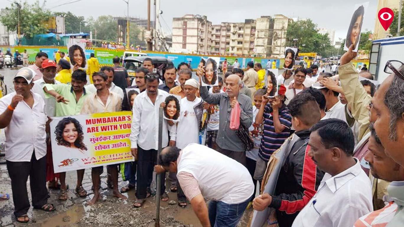 मलिष्का के समर्थन मे मुंबई में रैली !