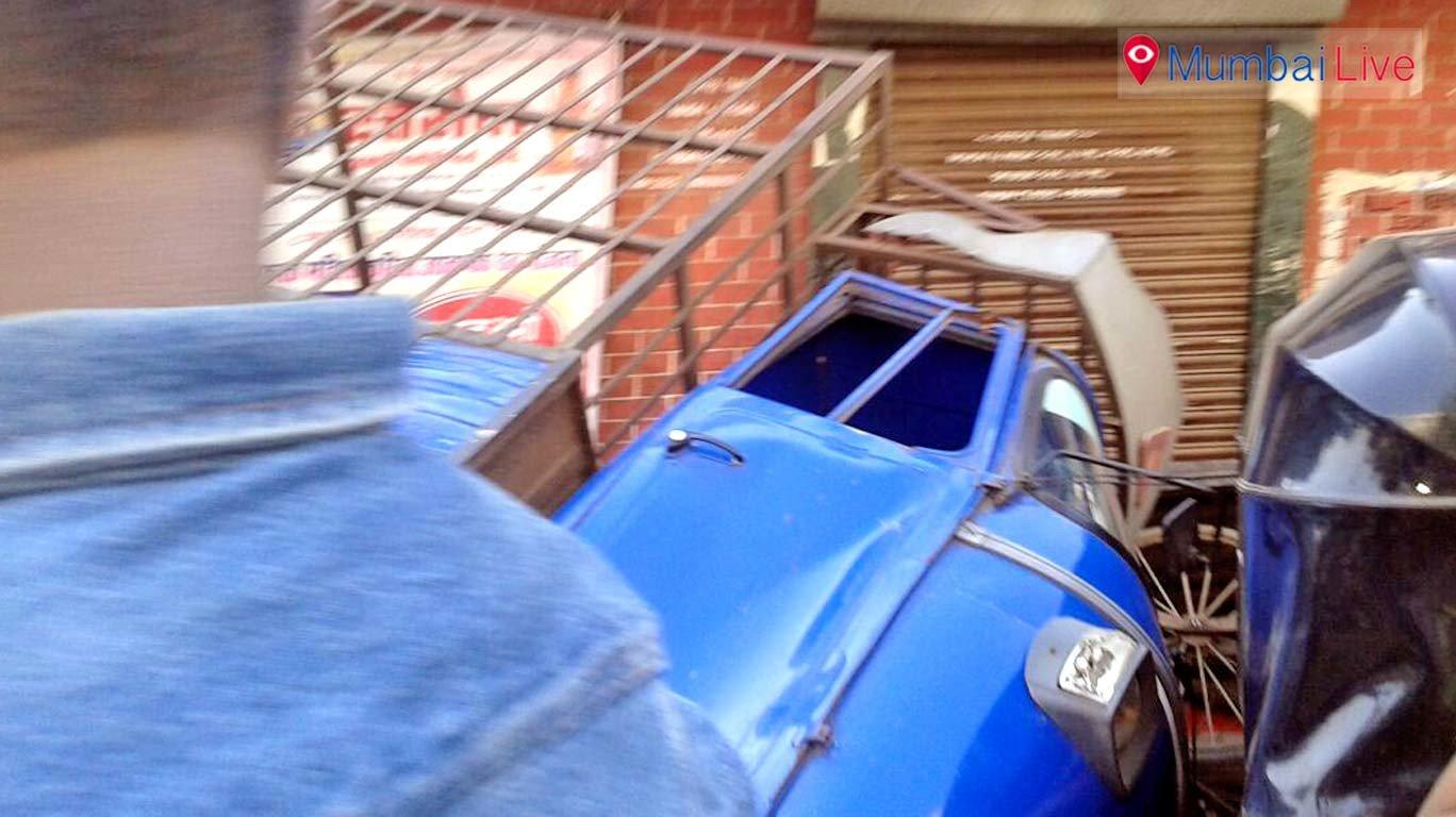 Speedy Ola cab rams into three vehicles