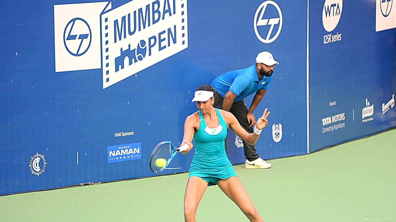 WTA Mumbai Open: Indian girls Karman, Zeel impress before bowing out