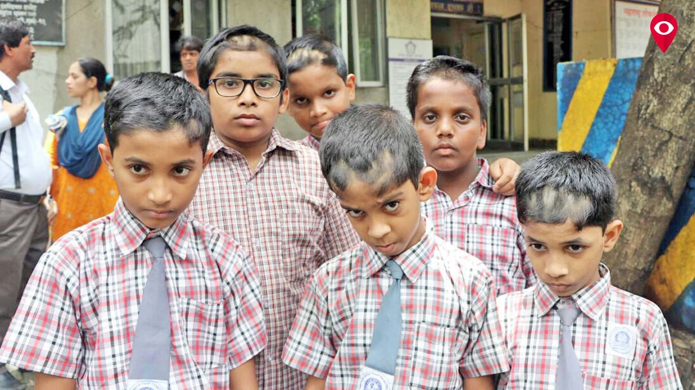 Vikhroli's KVV school punishes students with forced haircut