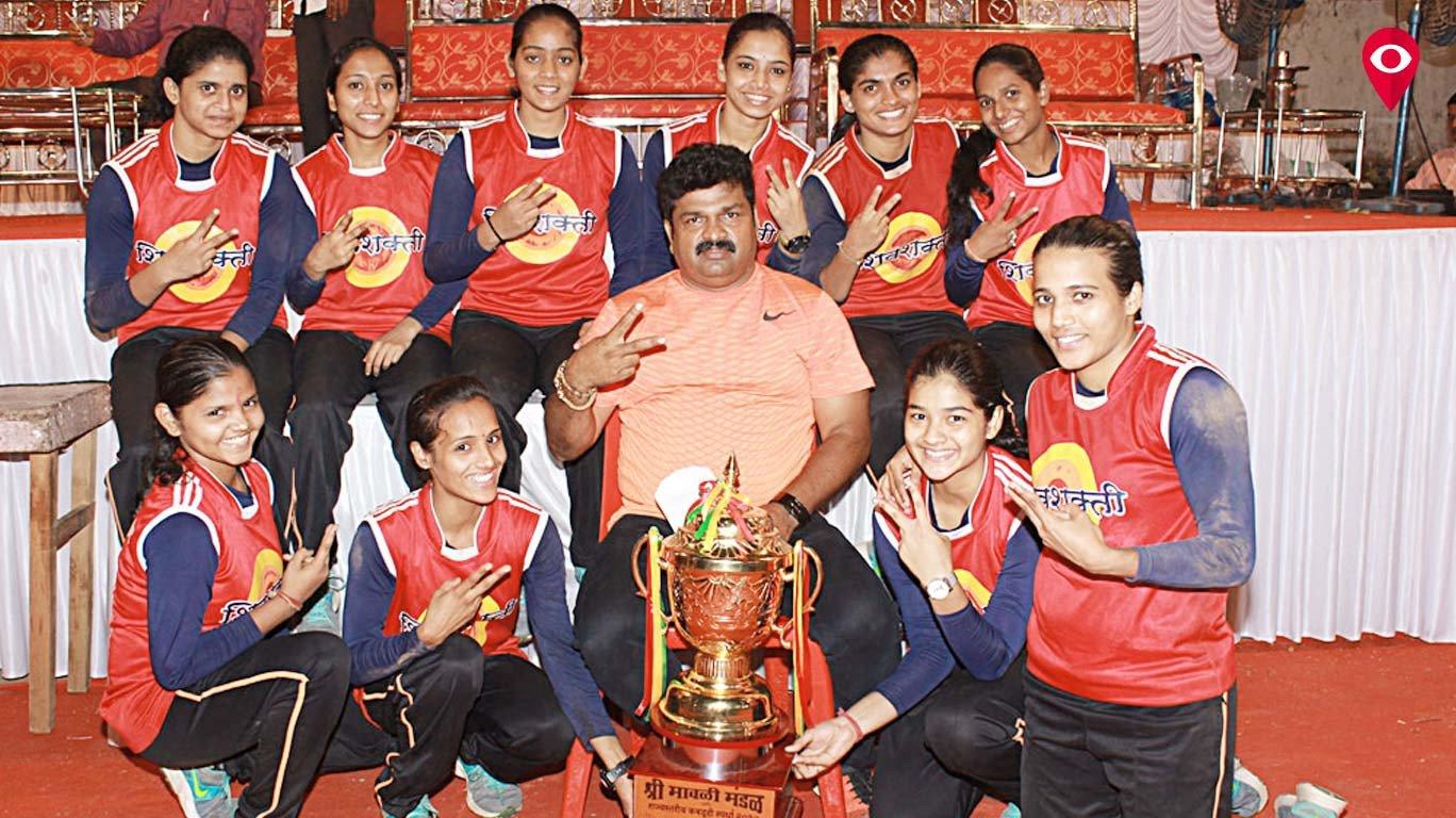 मुंबईच्या शिवशक्ती महिला संघाचा कबड्डी स्पर्धेत विजय