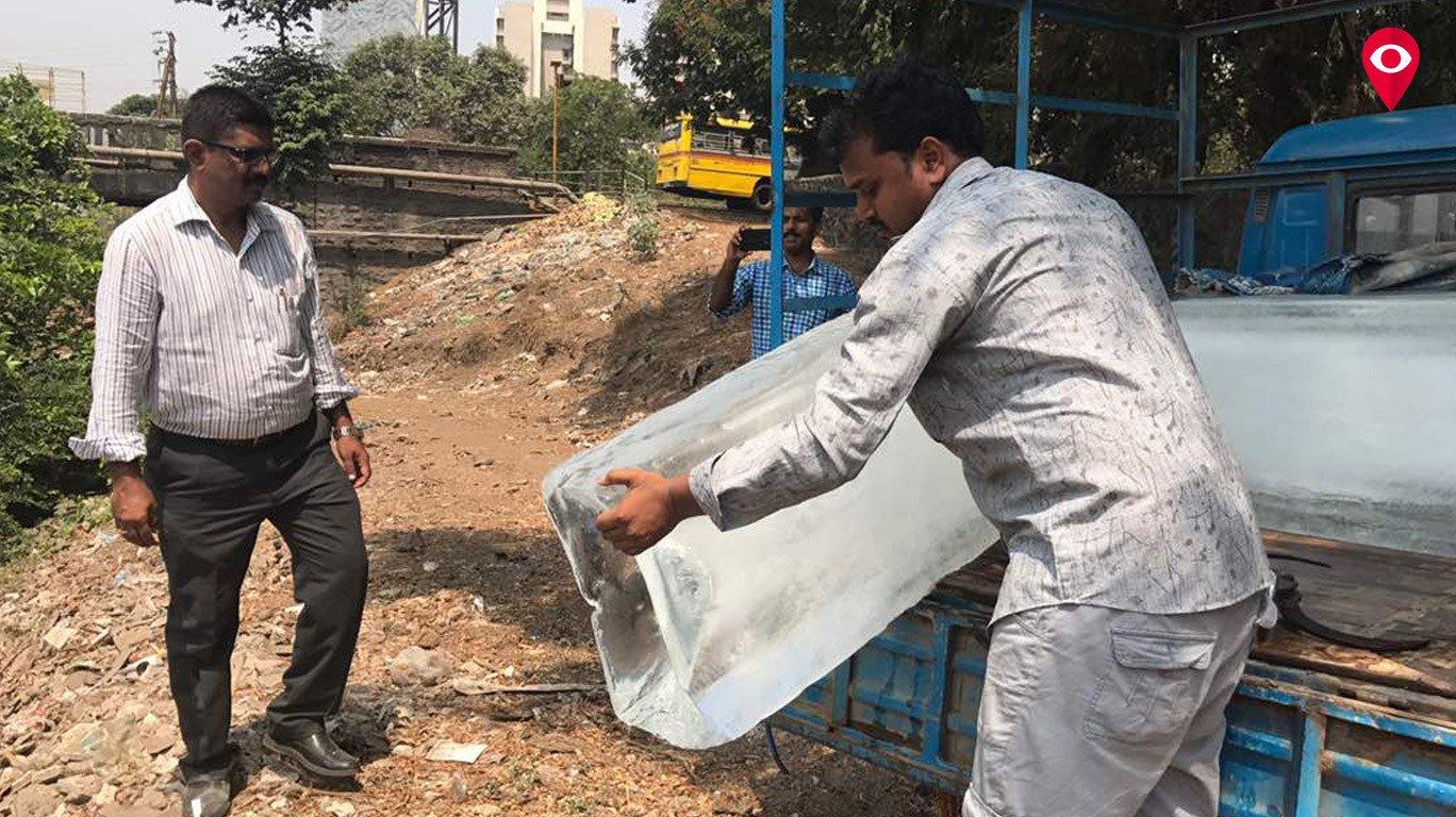 मुंबईत एफडीएला दूषित बर्फ दिसेना !